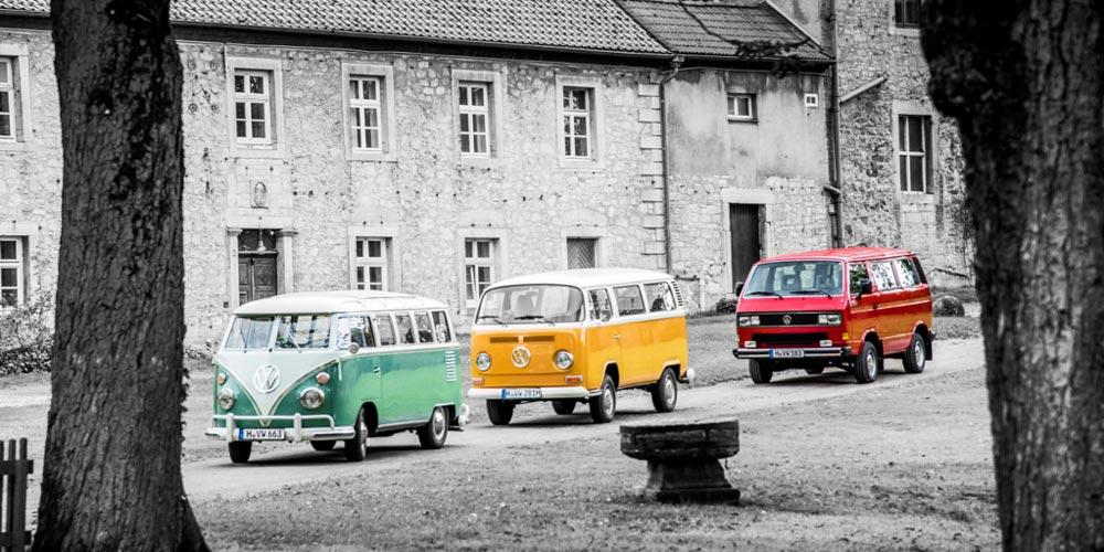 VW Nutzfahrzeuge Oldtimer jetzt mit offizieller Facebook-Gruppe